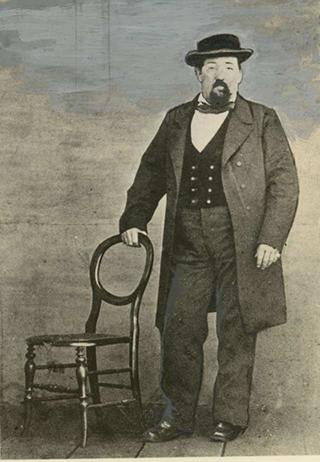 old photo of Gassy Jack Deighton