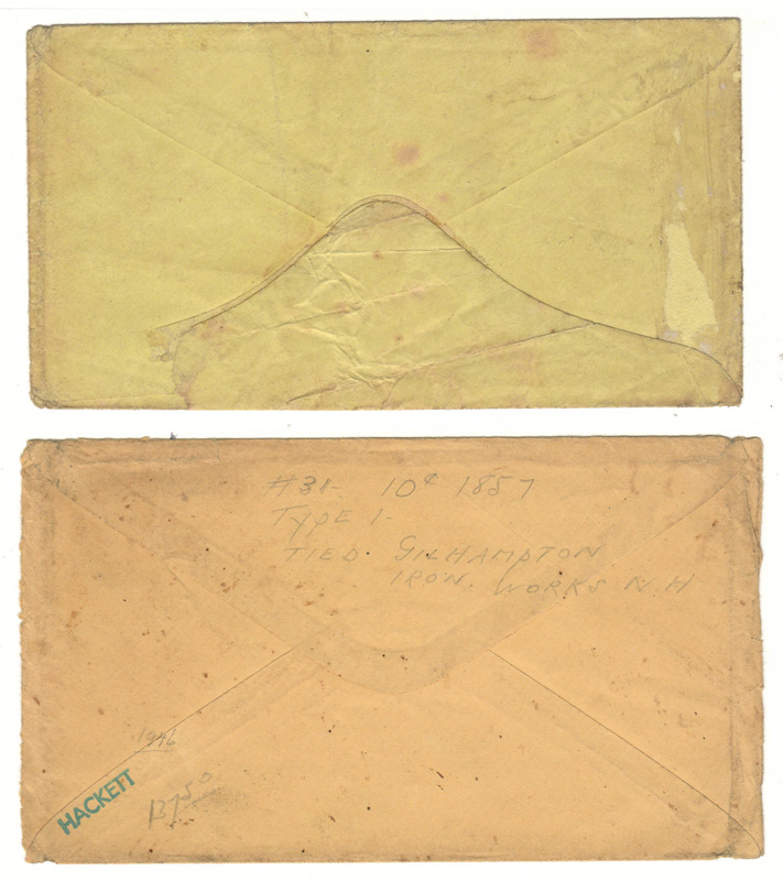 other side of envelopes