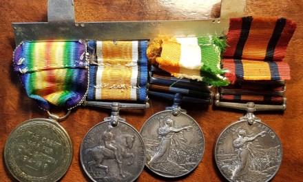 Boer War WW1 Medals Group named to M. Forrest Scottish Horse (4)