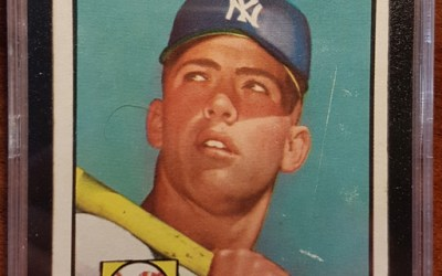 Mickey Mantle 1952 KSA 2G First Topps Card #311