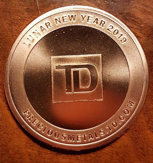 TD Bank Lunar New Year 2019