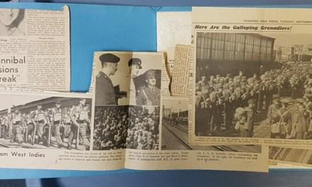 Winnipeg Grenadiers booklet, Force C 22 Nov 1941 letter