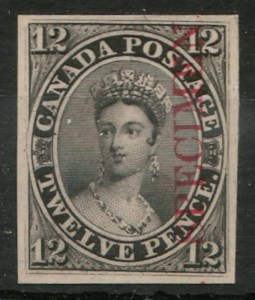 1851 12d Black Specimen Plate Proof