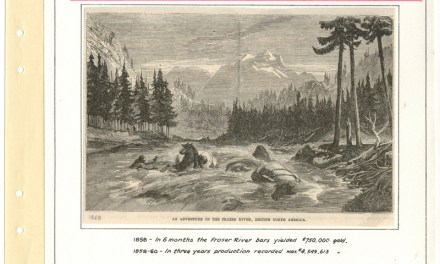 Page 17, 1858 Fraser River Gold Rush Gerald Wellburn Page