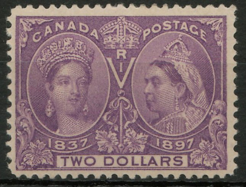 1897 $2 Jubilee stamp