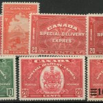 Canada #E2/E9 Mint 1922/1939 Special Deliveries