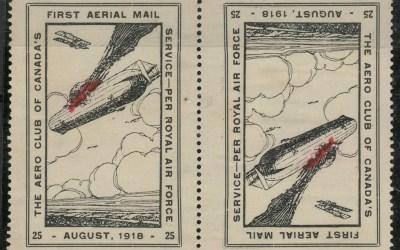 Canada #CLP2 1918 25c Tete-Beche Pair