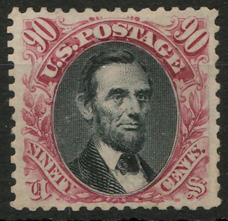 Lincoln stamp