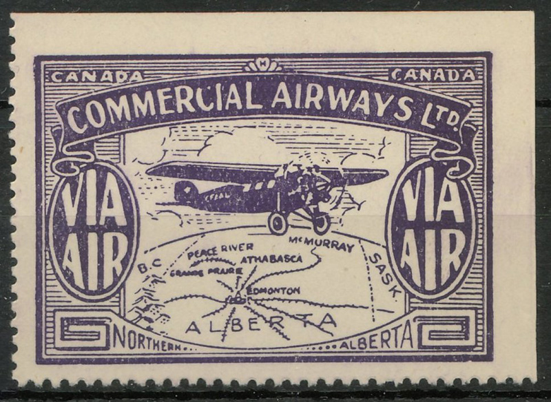 Commercial Airlines stamp