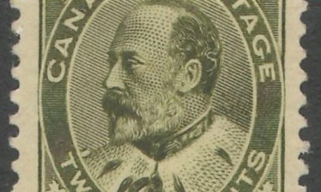 Canada #94 VF Mint 1904 20c Edward VII