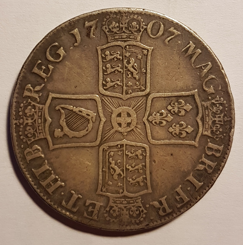 Reverse with 170 7 date and arms