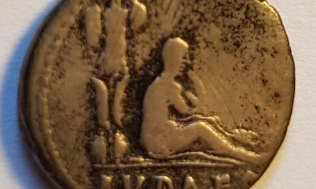 Vespasian 69-79AD Judaea Capta Silver Denarius