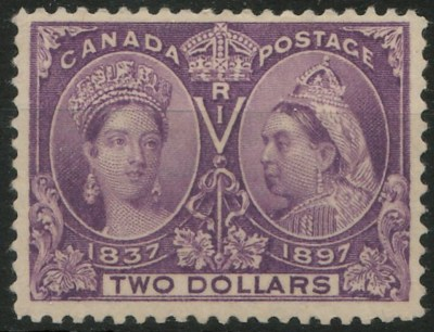 Canada Postage  Two Dollars