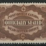 Canada #OX1 NH 1879 D.L.O. 1994 Greene Cert