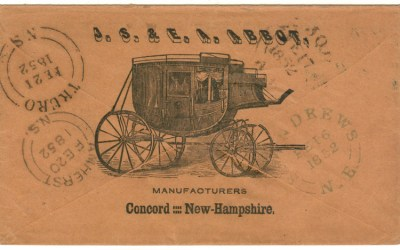 Page 32, Wells Fargo 1860 Victoria receipt & 1852 Concord Coach Cover,  Fraser River Gold Rush collection