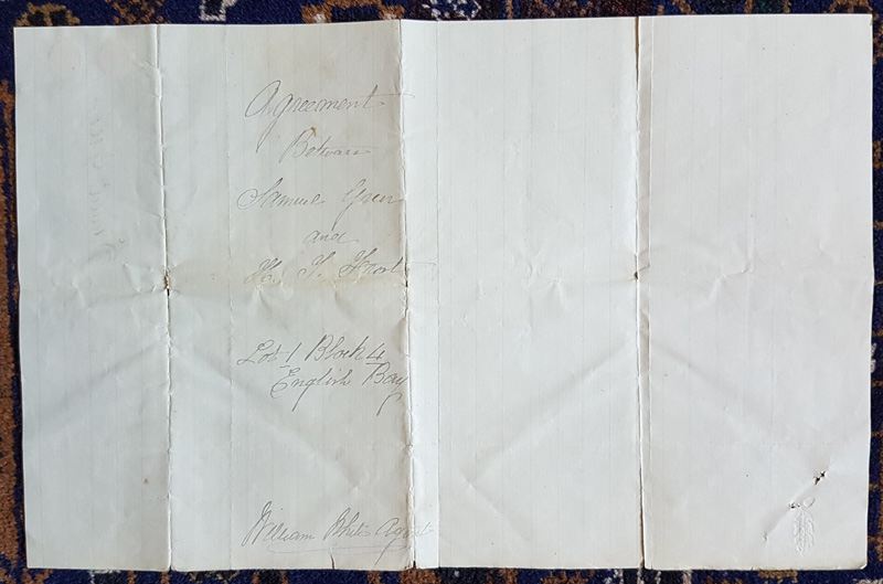 Back of document