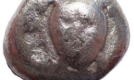 Attica, Aegina circa 450-457BC 20mm 11.7gm Sea Turtle Silver Stater