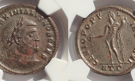 Galerius NGC Choice AU 293-305AD 29mm 10.3gm Ae Follis