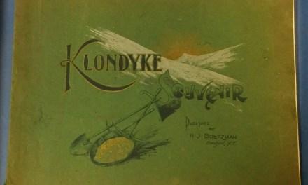 Klondyke Souvenir 1901 Goetzman 90-pg Photoprint Book, some wear