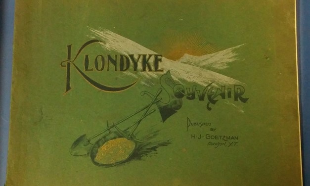 Klondyke Souvenir 1901 Goetzman 90-pg Photoprint Book, some wear