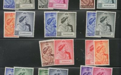 British Empire 1948/1949 Mint A/N Silver Wedding Sets (34)