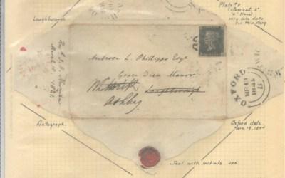 G.B. #1 1844 Cardinal Newman F.L.S. to Ambrose Phillipps