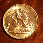 G.B. BU 1963 Q.E. II Gold Sovereign