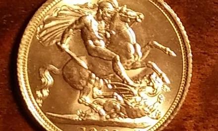 G.B. BU 1963 Q.E. II Gold Sovereign