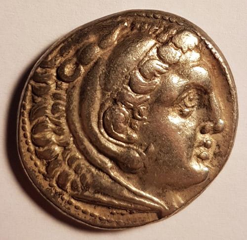 Alexander the Great 336-323 BC 17gm Macedonian Silver Tetradrachm