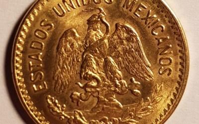 Mexico BU 1959 Gold 10 Pesos .2396oz AGW