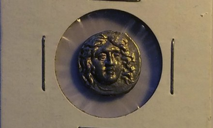 Thrace 171-170 B.C. Helios Silver Drachm