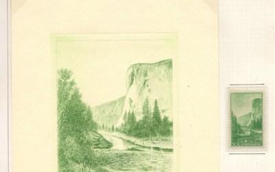 U.S.A. #740-49 Mint National Parks Set w/ Peckmore Engravings (20)