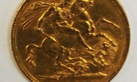 1897 Victoria Gold Sovereign .2355oz AGW