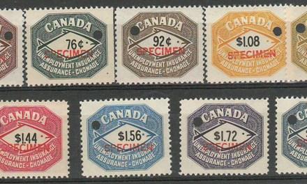 Canada #FU87S-FU95S 1960 Specimen Set (9)