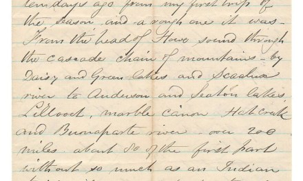 Victoria, B.C. 11 Sep 1873 Marcus Smith 4-sides Letter to his wife