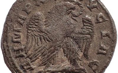 Seleucis & Pieria, Antioch 249-51 AD Herrenius Etruscas Silver Tetradrachm