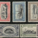 Falkland Islands #65-73 1933 values (9 diff)