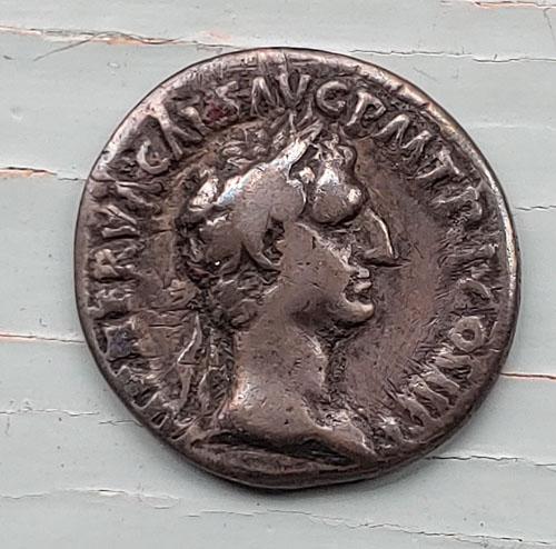 Nerva 96-98 AD Silver Denarius w/ Concordia etc
