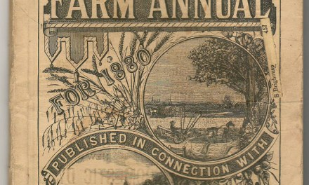 Canadian Farm Annual 1880 Toronto Weekly Mail, 88 pgs ex Brighouse