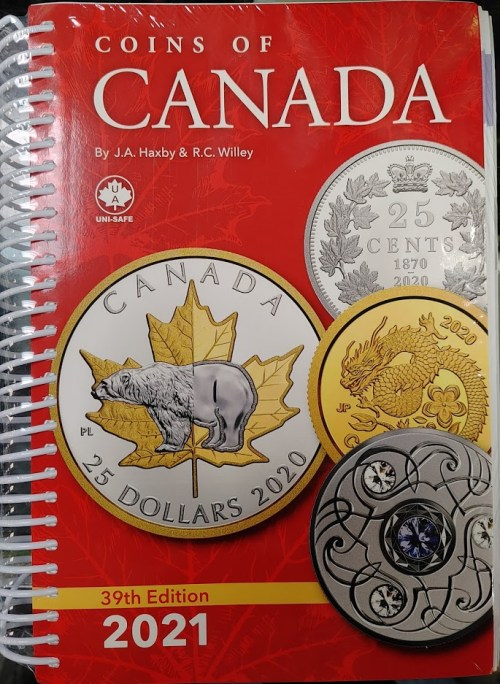 Unisafe Coins of Canada 39th Edition 2021