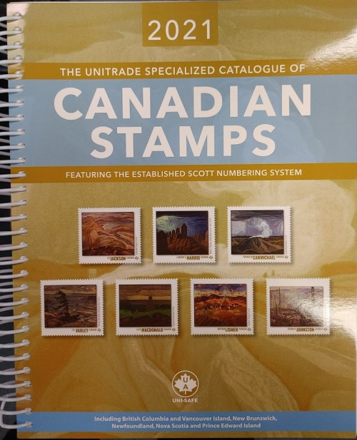 Unitrade Specialized Catalogue of Canadian Stamps 2021
