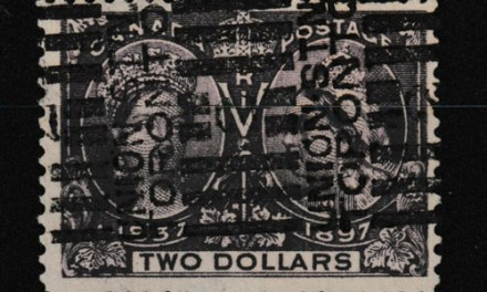 Canada #62 Fine Union Stn Roller Used 1897 $2 Jubilee
