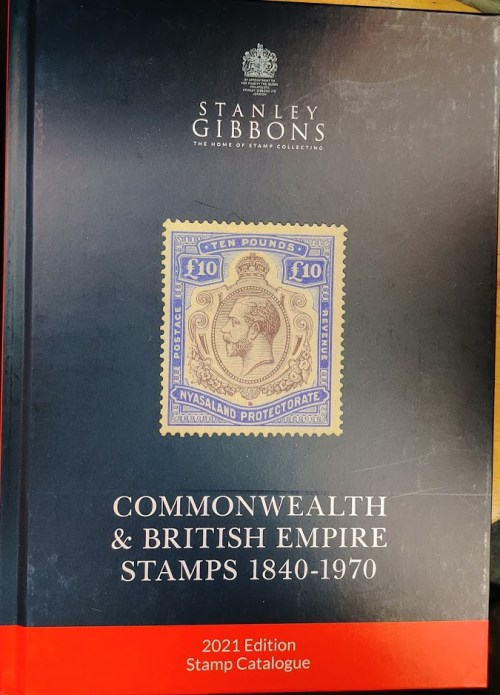 Stanley Gibbons 2021 Commonwealth & British Empire Stamps 1840-1970 Catalogue new stock