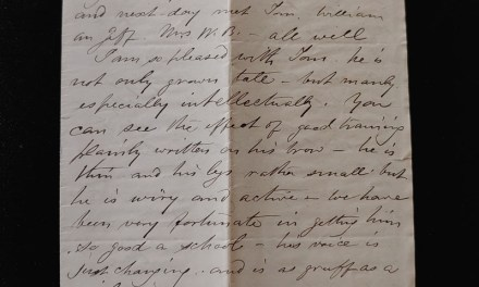 Royal Hotel, Hamilton 26 Apr 1874 4-sided Marcus Smith letter home