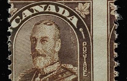 Canada #166MP Mint 1931 2c Dramatic Misperf ex Penko