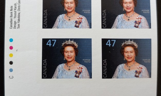 Canada #1683a VFNH 2000 LL 47c Imperforate Plate Block