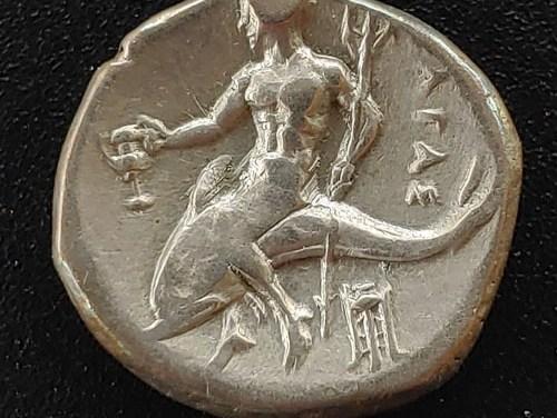 Greece/Calabria-Tarentum 380-355 BC 7gm Silver Nomos