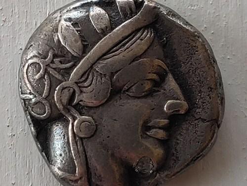 ATHENA Owl Silver Tetradrachm