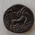 Celtic Gaul, Coriosolites 75-50 BC 6gm Billon Stater