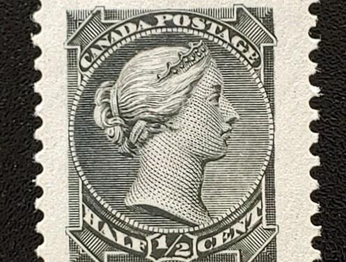 Canada #34 VFNH 1/2c Small Queen